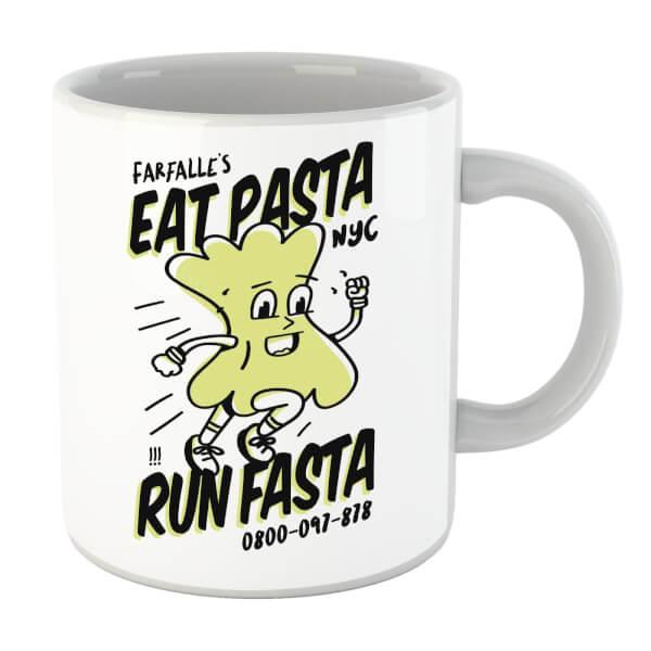 Eat Pasta Run Fasta Mug
