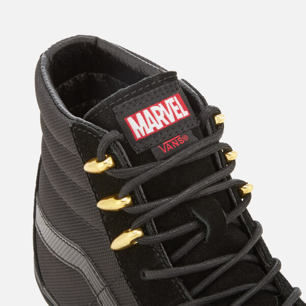 Vans Marvel Sk8 Hi Top Trainers Black Pantherblack Free Uk