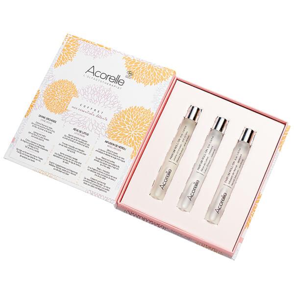 Acorelle Eau de Parfum Roll On Trio Gift Set (Worth £39.00)