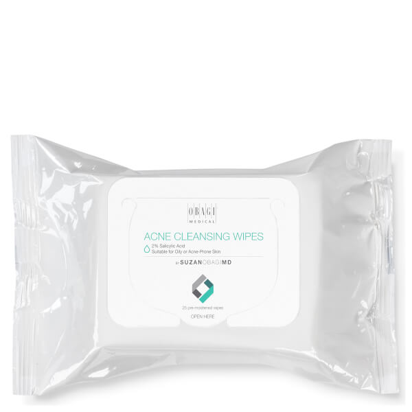 SUZANOBAGIMD Acne Cleansing Wipes (25 Pack)