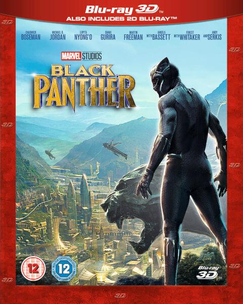 Black Panther 3d Includes 2d Version Blu Ray Zavvi