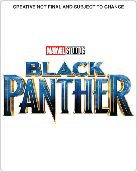 Black Panther 3D (+ 2D Version) - Zavvi UK Exclusive Steelbook Blu-ray