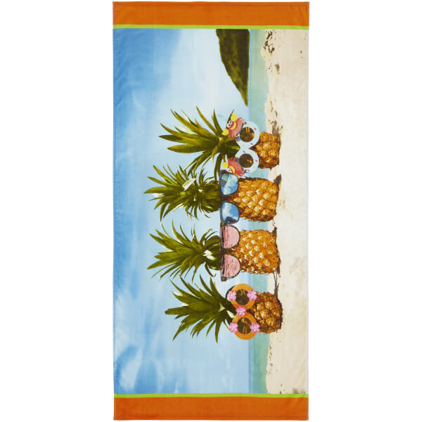 Catherine Lansfield Pineapple Beach Towel - Multi