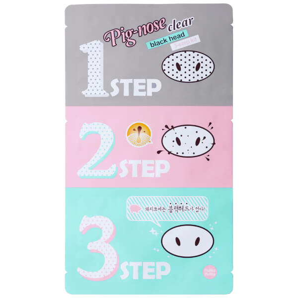 Holika Holika Pig Nose Clear Blackhead 3-Step Kit 5 Set