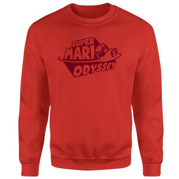 Super Mario Odyssey Logo Sweatshirt - Red