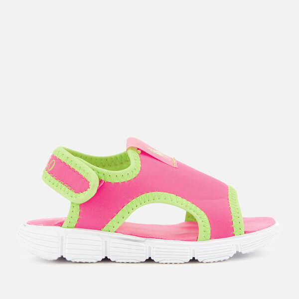 Polo Ralph Lauren Toddlers' Kanyon Sandals - Baja Pink/Lime/Lime