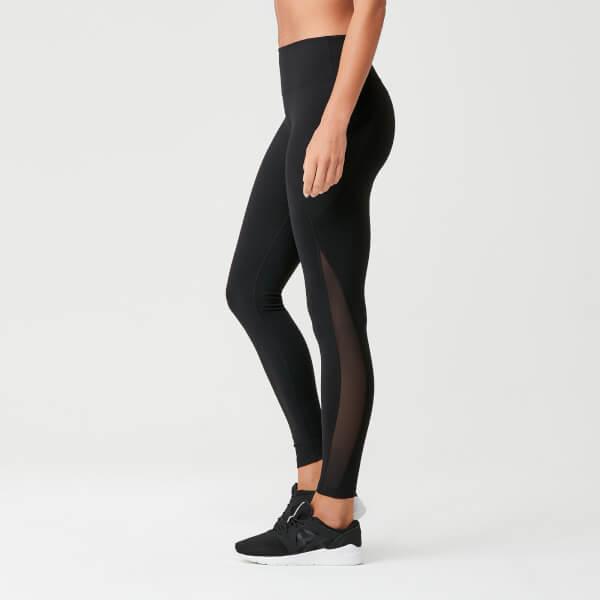 Myprotein Power Mesh Leggings - Black