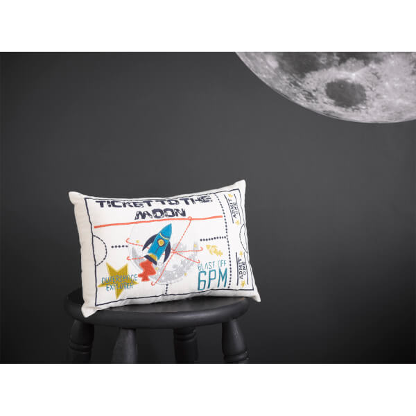 Christy Ticket To The Moon Cushion Multi