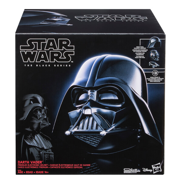 Star Wars: Darth Vader The Black Series Electronic Helmet