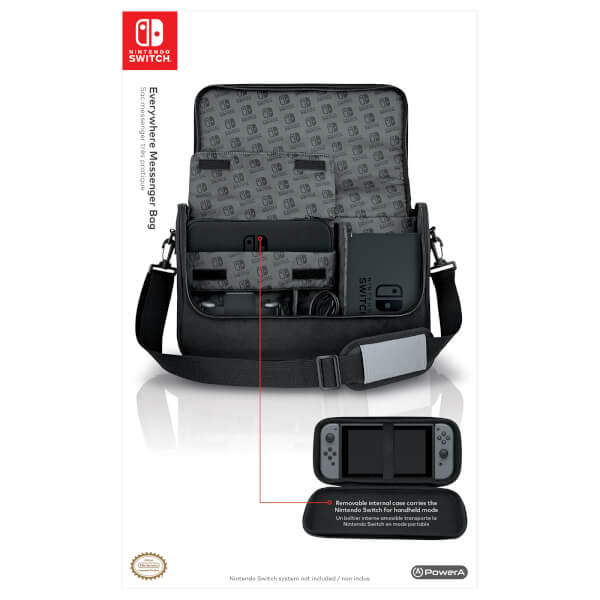 Nintendo Switch Everywhere Messenger Bag  Image 3 48dc25cd51604