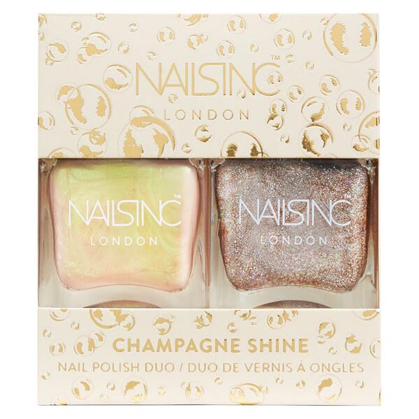 nails inc. Trend Duo Champagne Shine Nail Polish Duo 2 x 14ml