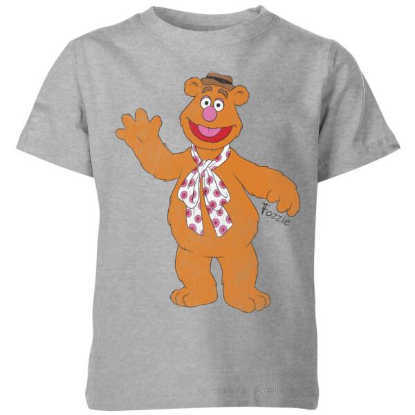 Disney Muppets Fozzie Bear Classic Kids' T-Shirt - Grey