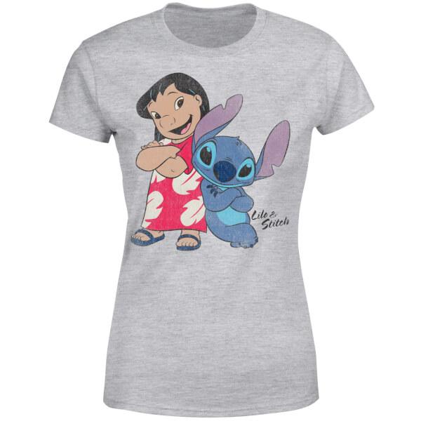 Disney Lilo & Stitch Classic Women's T-Shirt - Grey
