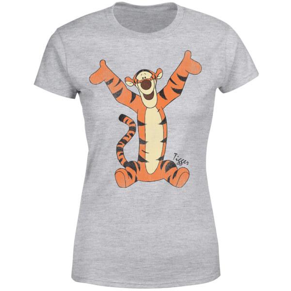 Disney Winnie The Pooh Tigger Classic Women's T-Shirt - Grey