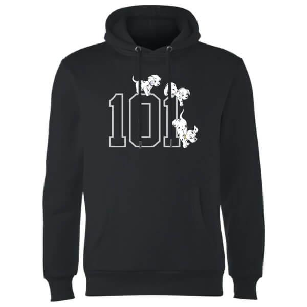 Disney 101 Dalmatians 101 Doggies Hoodie - Black