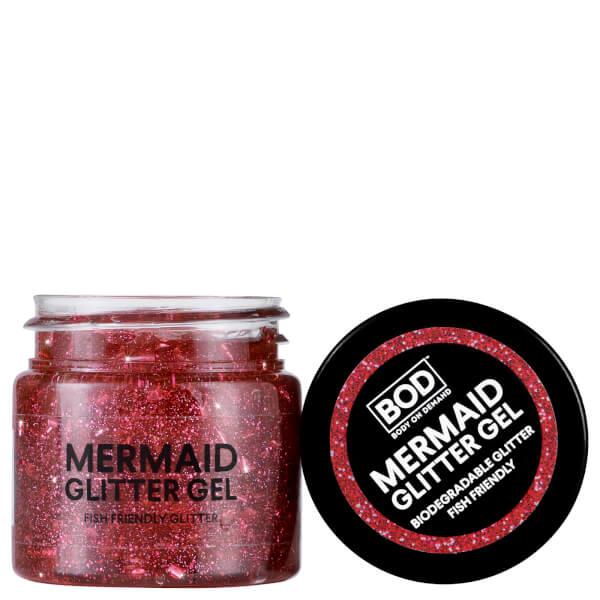 BOD Mermaid Body Glitter Gel - Pink