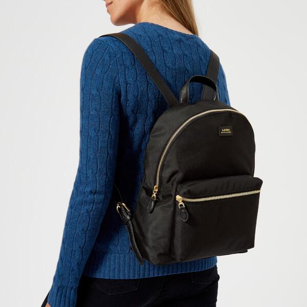 ff973fbb537ef Lauren Ralph Lauren Women s Chadwick Medium Backpack - Black  Image 3