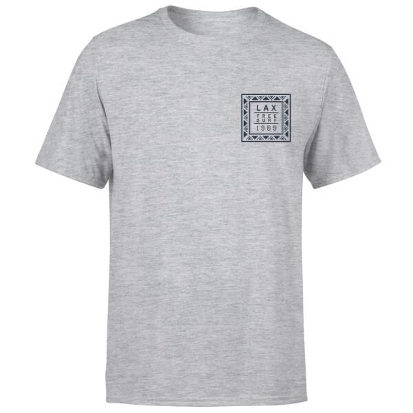Native Shore Men's LAX Free Surf T-Shirt - Grey