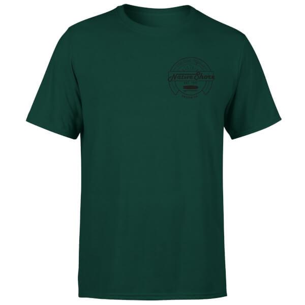 Native Shore Men's West Coast T-Shirt - Forest Green