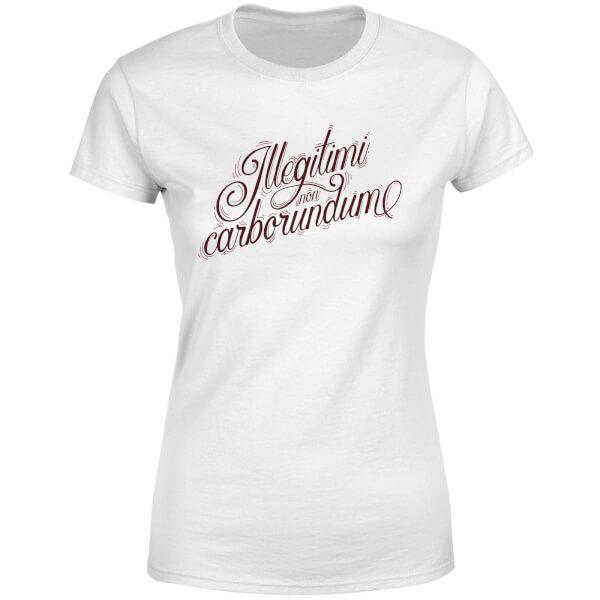 Illegitimi Women's T-Shirt - White