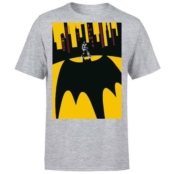 DC Comics Batman Bat Shadow T-Shirt - Grey