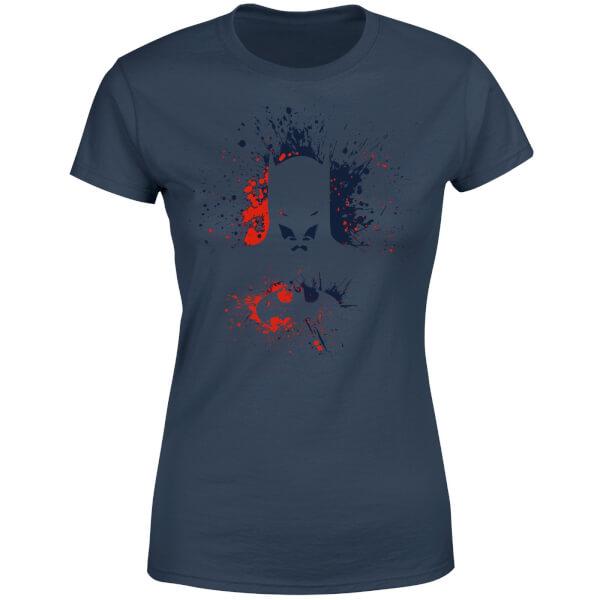DC Comics Batman Splash Women's T-Shirt - Navy