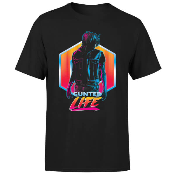 Ready Player One Gunter Life T-Shirt - Black