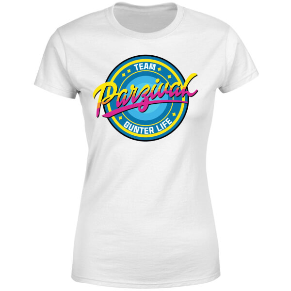 Ready Player One Team Parzival Women's T-Shirt - White