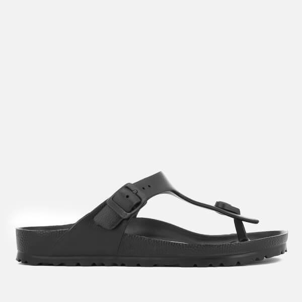 Birkenstock Women's Gizeh EVA Toe Post Sandals - Black