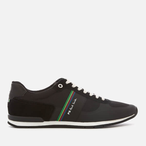 PS Paul Smith Men's Ericson Runner Style Trainers - Black