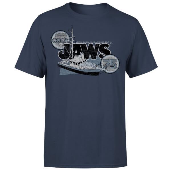 Jaws Orca 75 T-Shirt - Navy
