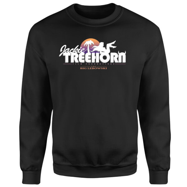The Big Lebowski Treehorn Logo Sweatshirt - Black