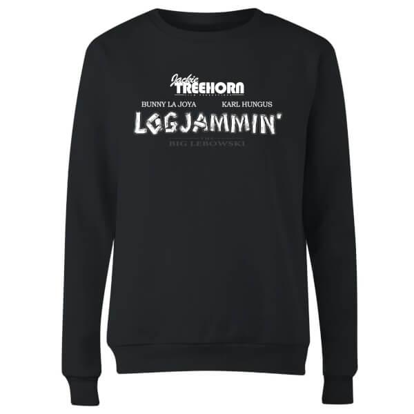 The Big Lebowski Logjammin Women's Sweatshirt - Black