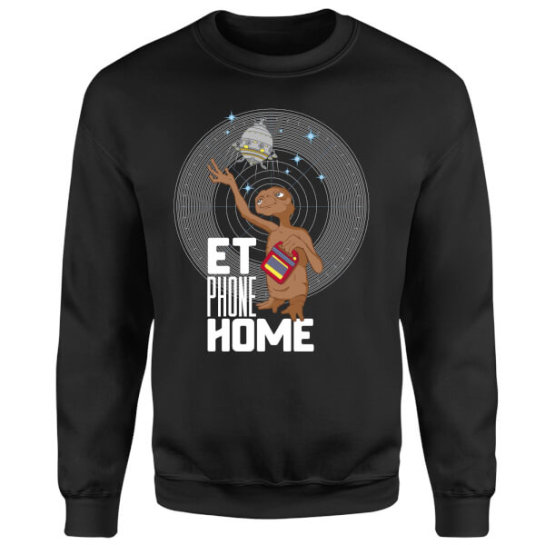 E.T. Phone Home Sweatshirt - Black