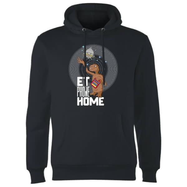 E.T. Phone Home Hoodie - Black