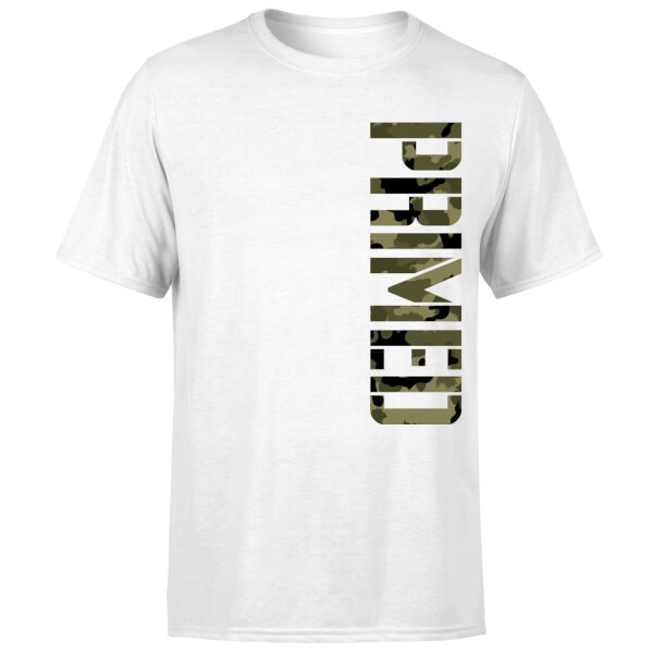 Primed Campaign T-Shirt - White