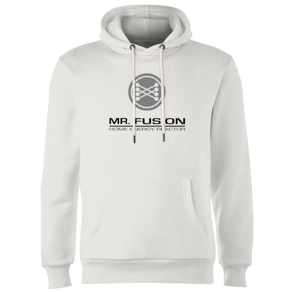 Back To The Future Mr Fusion Hoodie - White