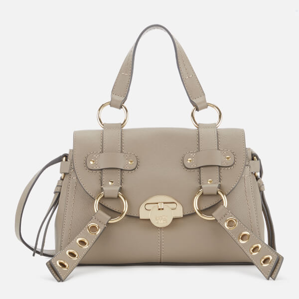 See By Chloé Women's Allen Leather Tote Bag - Motty Grey: Image 01