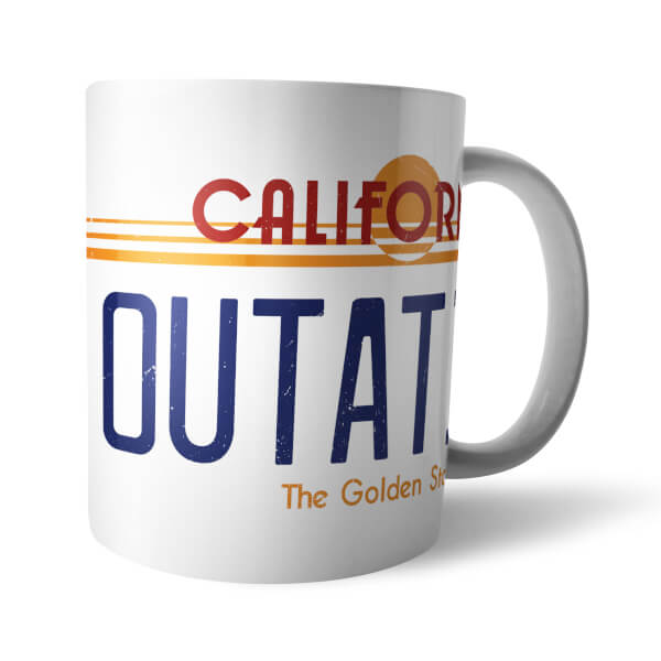 Back To The Future Outatime Mug