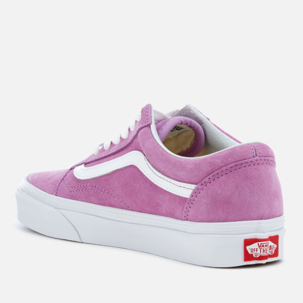 fabae96a72 Vans Women s Old Skool Suede Trainers - Purple True White  Image 2