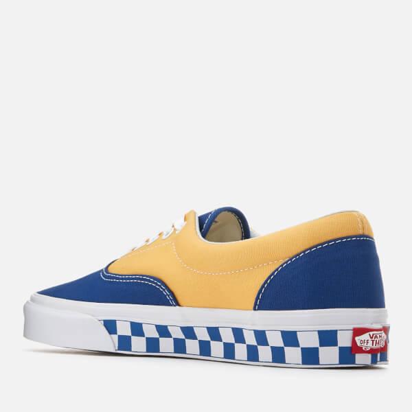 e49c28569f5fc8 Vans Men s Era BMX Checkerboard Trainers - True Blue Yellow Clothing ...