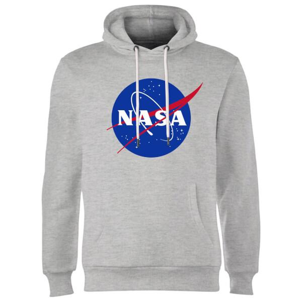 NASA Logo Insignia Hoodie - Grey