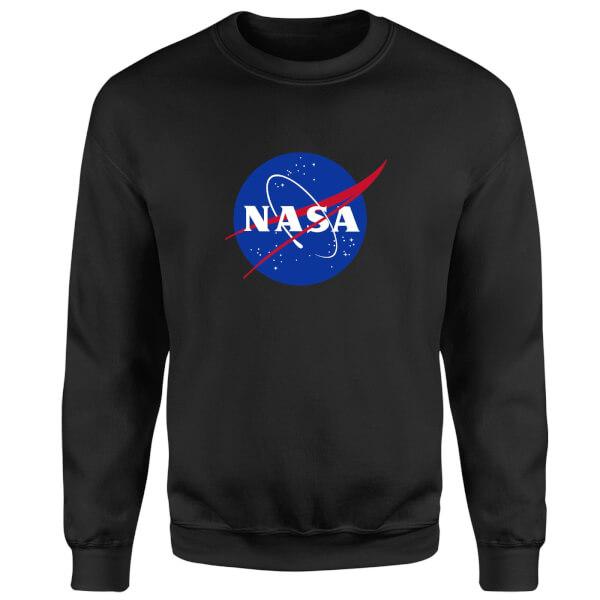 NASA Logo Insignia Sweatshirt - Black
