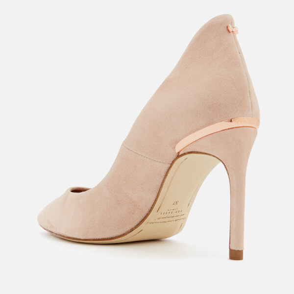 90783bb43e6b32 Ted Baker Women s Savio 2 Suede Court Shoes - Nude Womens Footwear ...