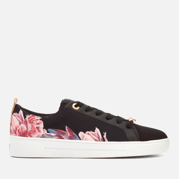 Ted Baker Women's Ahfira 2 Cupsole Trainers - Tranquility Black