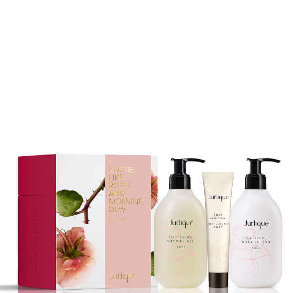 Jurlique Rose Hydrating Hand and Body Trio (Worth $82.00)