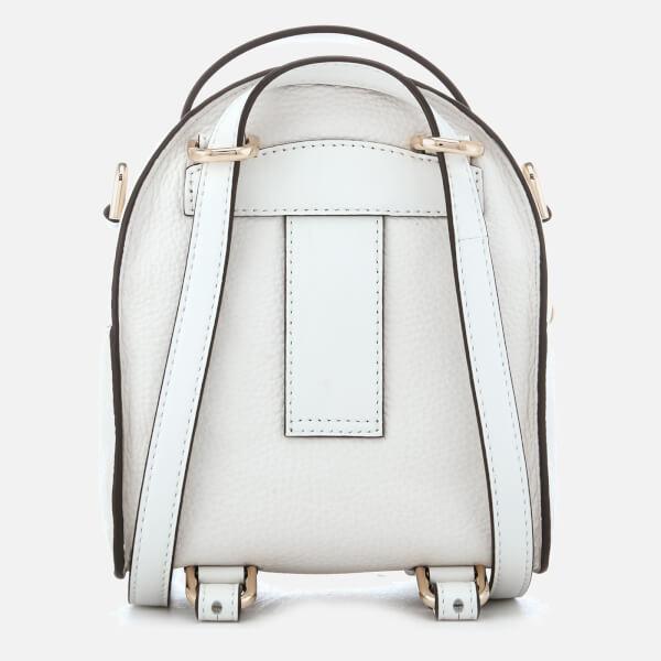 95122597f340 MICHAEL MICHAEL KORS Women's Jessa Extra Small Convertible Backpack - Optic  White: Image 2