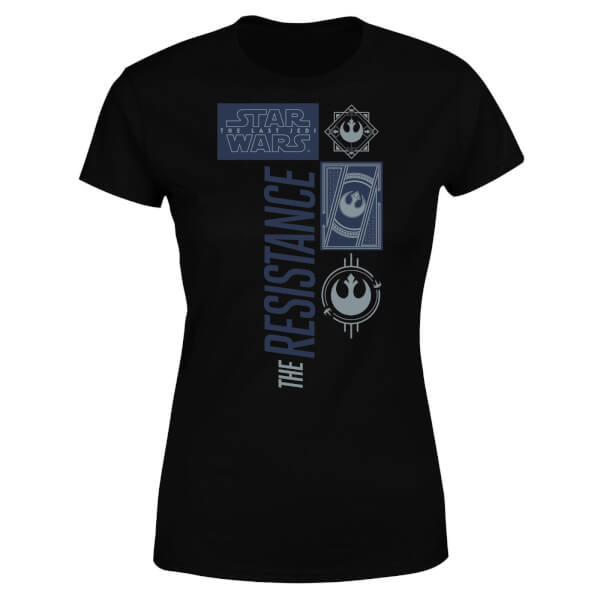 Star Wars The Resistance Black Women's T-Shirt - Black