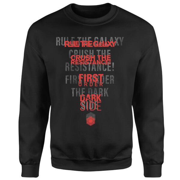 Star Wars Dark Side Echo Black Sweatshirt - Black