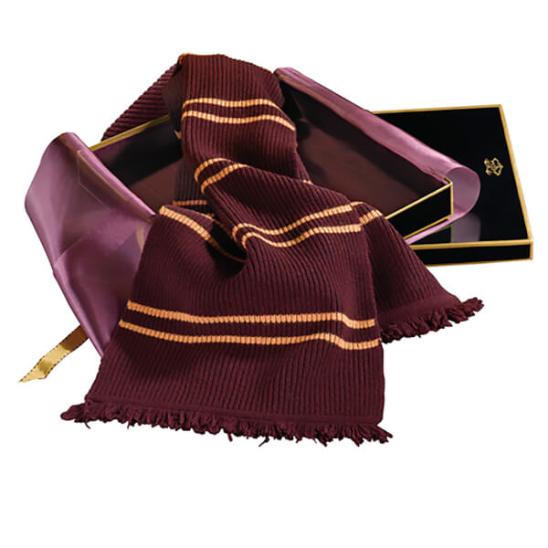 Harry Potter Lambs Wool Gryffindor Scarf in Madam Malkin's Box